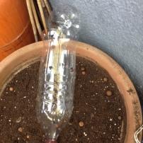 Botella compostadora